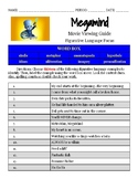 Megamind Movie Viewing Guide Figurative Language Identific