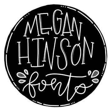 Megan Hinson (MH) Fonts - The Growing Bundle