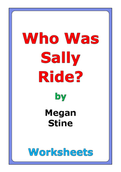 """Megan Stine """"Who Was Sally Ride?"""" worksheets"""
