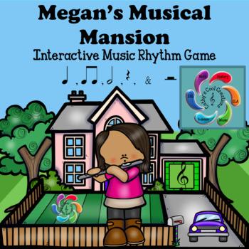 Megan's Musical Mansion-A Rhythm Game