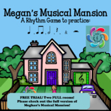 Megan's Musical Mansion-Interactive Music Rhythm Game TRIAL version!