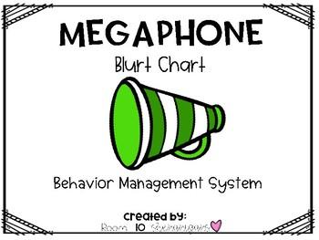 Megaphone Blurt Chart