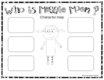 Meggie Moon Activities-Perfect for use with the CCGPS Units