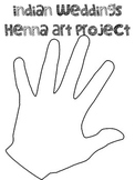 Mehendi and Henna Indian Wedding Art Project