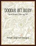 Mehndi Coloring Book