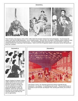 Meiji Japan (Document Packet)