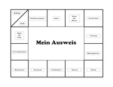 Mein Ausweis:  a German game for beginners