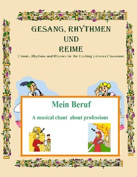 German Musical Chant About Professions - Mein Beruf