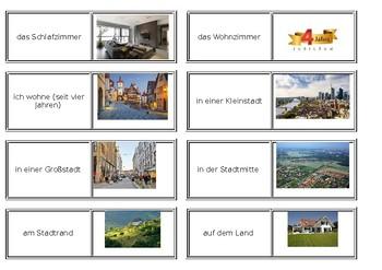 Mein Haus / Bei mir / Wo ich wohne / My house / Rooms in a house