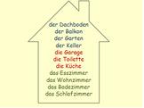 Mein Haus - My House (rooms, genders, in+dative)