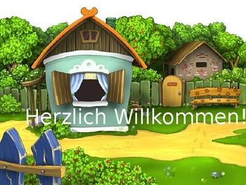 Mein Haus / Wo ich wohne / Bei mir / My house / Where I live / Zimmer / Rooms