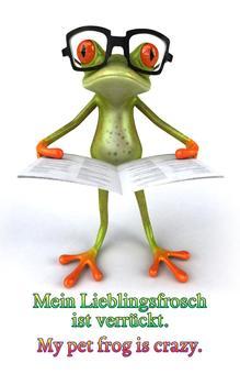 Mein Verrückter Lieblingsfrosch (German Edition)