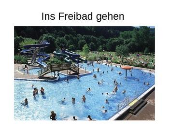 Mein Wochenende / My weekend / Weekend plans / Sports / Hobbies