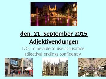 Meine Stadt / Meine Umgebung / My town / Describing a town / Accusative case