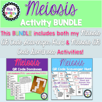 Meiosis Activity BUNDLE