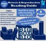 Guided Reading: Meiosis Cell Division, Sexual Reproduction