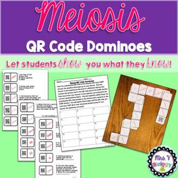 Meiosis QR Code Dominoes