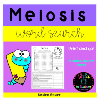 Meiosis Word Search