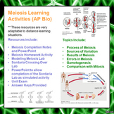 Meiosis and Gametogenesis e-Learning Activities for AP Biology