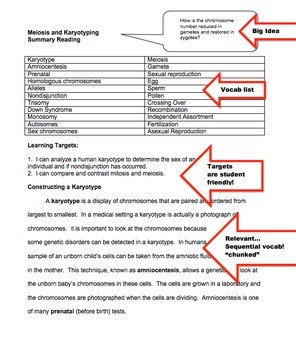 Meiosis and Karyotyping Reading and Guided Notes