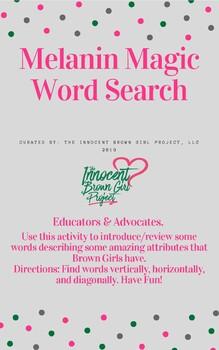Melanin Magic Word Search
