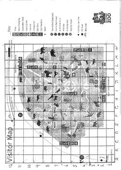 Melbourne Zoo Grid Reference Activity