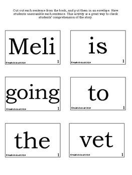 Meli at the Vet LLI Book 25