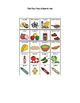 Melissa and Doug or Play Food Picture Supports