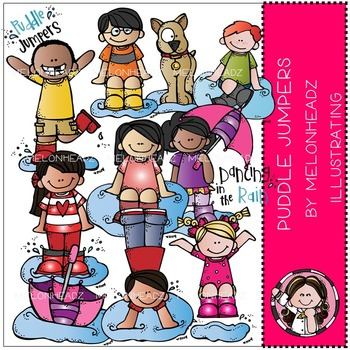 Melissa's Puddle Jumpers by Melonheadz COMBO PACK