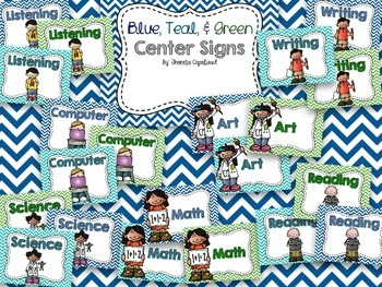 Melissa's Center Signs