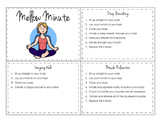 Mellow Minute Booklet (stress management tool)