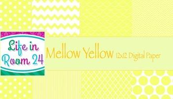 Mellow Yellow {12x12 Digital Paper Pack}