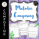 Melodic Composing: Solfege, Pattern Writing, & On the Staff Cards