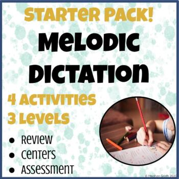 Melodic Dictation Starter Pack!