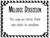 Melodic Direction