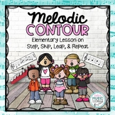 Melodic Direction: Step, Skip, Leap, & Repeat - BUNDLE!