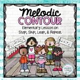 Melodic Contour: Step, Skip, Leap, & Repeat - BUNDLE!
