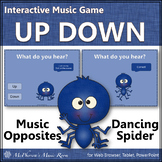 Melodic Direction Up Down ~ Music Opposite Interactive Music Game {Spider}