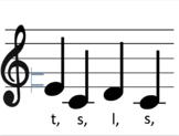 Melodic Flashcards BUNDLE