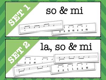 Melodic Flashcards - Do Pentatonic Music Reading