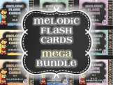 Melodic Flashcards MEGA Bundle