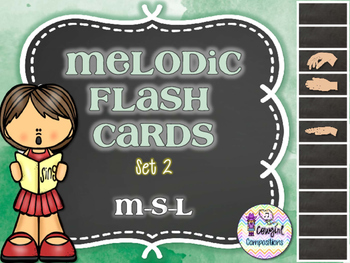 Melodic Flashcards Set 2 (M-S-L)