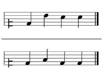 Melodic Flashcards Set 3 (D-M-S-L)