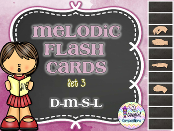 Melodic Flashcards Set 3 (D-M-S-L)