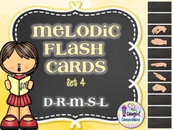 Melodic Flashcards Set 4 (D-R-M-S-L)