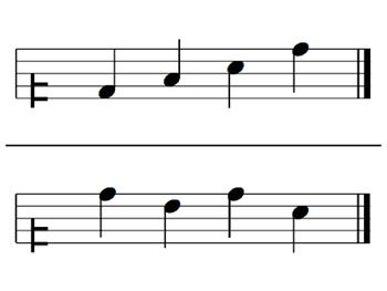 Melodic Flashcards Set 5 (D-R-M-S-L-D')