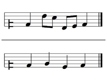 Melodic Flashcards Set 8 (S,-L,-T,-D-R-M-F-S-L-T-D')