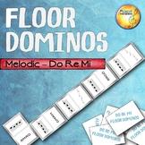 Melodic Floor Dominos - Do Re Mi Solfege