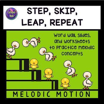 Melodic Motion – Step, Skip, Leap, Repeat