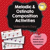 Melodic & Ostinato Composition Activities with Bulletin Bo